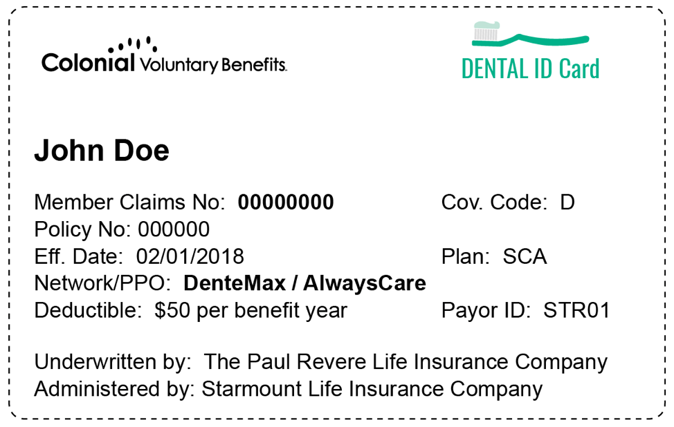 Dental Vision Insurance Coverage And Plans The Paul Revere Life Insurance Company